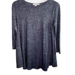 Workshop Republic Clothing gray stretchy tunic top
